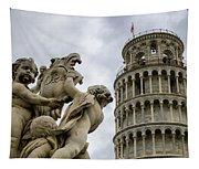 Tower Of Pisa Tapestry