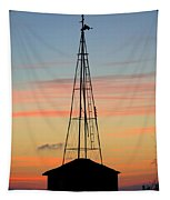 Tower Sunrise Tapestry
