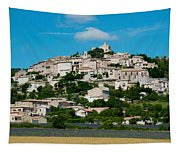 Town On A Hill, D51, Sault, Vaucluse Tapestry