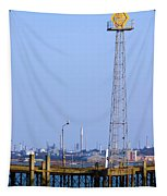 Town Quay Navigation Marker And Fawley Tapestry