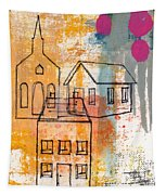 Town Square Tapestry