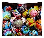 Toy Balls Tapestry