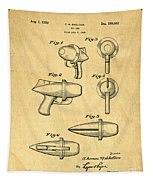 Toy Ray Gun Patent Tapestry