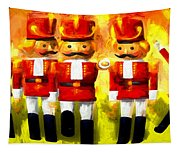 Toy Soldiers Nutcracker Tapestry
