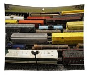 Toy Trains Tapestry
