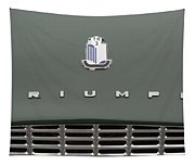 Tr3 Hood Ornament And Grill Tapestry