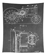 Tractor Patent Tapestry