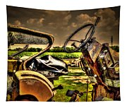 Tractor Seat Tapestry