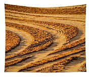 Tractor Tracks Tapestry