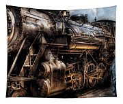 Train - Engine -  Now Boarding Tapestry