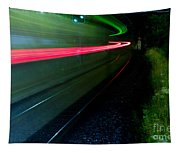 Train Pass By Tapestry
