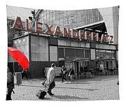 Train Station Alexanderplatz Tapestry