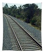 Train Tracks Tapestry