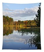 Tranquil Autumn Landscape Tapestry