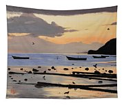 Tranquil Dawn Tapestry