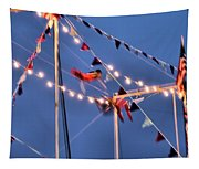 Trapeze Blur Tapestry