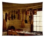 Trapper Supplies At The General Store Tapestry