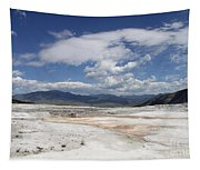 Travertine Hill Of Mammoth Hot Springs  Tapestry