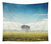 Tree And Meadow Tapestry