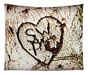 Tree Initials Tapestry