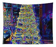 Tree Of Light Tapestry