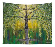 Tree Of Reflection Tapestry