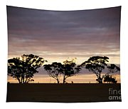 Tree Silhouette Tapestry