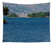 Trees And Islands Tapestry