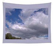 Trees Below The Clouds Tapestry