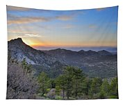 Trevenque Mountain At Sunset  2079 M Tapestry