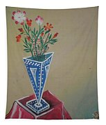 Triangle Flower Pot Tapestry