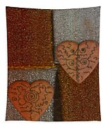 Tribal Hearts Tapestry