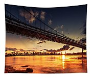 Triboro Sunset Tapestry