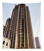 Tribune Tower Facade Tapestry