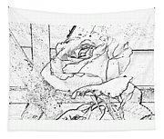 Tricia's Rose Dm  Tapestry