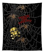 Trick Or Treat Halloween Digital Artwork Tapestry
