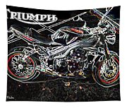 Triumph Abstract Tapestry