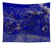 Triumph In Blue Tapestry