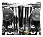 Triumph Roadster Front End Selective Color Tapestry
