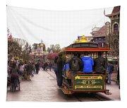 Trolley Car Main Street Disneyland 02 Tapestry