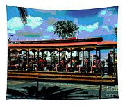 Trolley Stop Tapestry