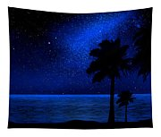 Tropical Beach Wall Mural Tapestry