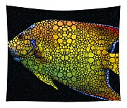 Tropical Fish 12 - Abstract Art By Sharon Cummings Tapestry