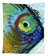 Tropical Fish - Art By Sharon Cummings Tapestry
