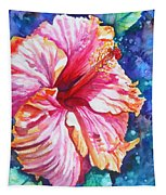 Tropical Hibiscus 4 Tapestry