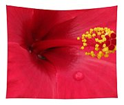 Tropical Hibiscus - Antigua Wind 01 Tapestry