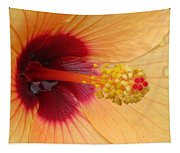 Tropical Hibiscus - Aruba Wind 01 Tapestry
