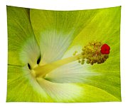 Tropical Hibiscus - Bonaire Wind 03a Tapestry