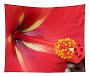 Tropical Hibiscus - Starry Wind 04 Tapestry