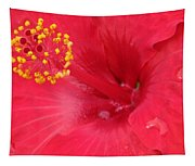 Tropical Hibiscus - Trinidad Wind 01 Tapestry